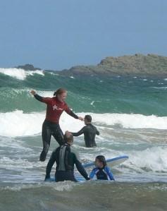 Escola de surfe TK Portrush