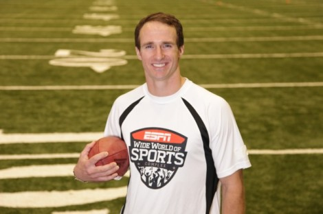 Drew Brees - quarterback do New Orleans Saints