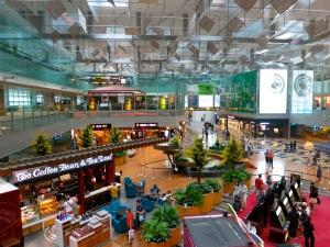 Singapore Changi Airport (o campeão de 2017)