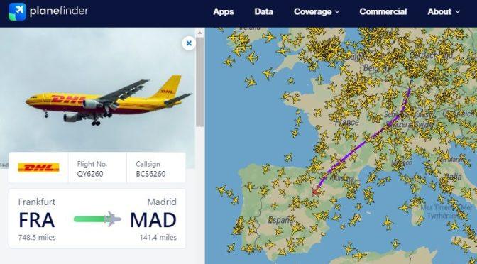 Acompanhando os aviões (parte 1)