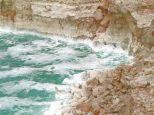 Cristais de sal - Mar Morto