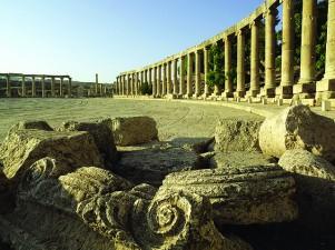Ruínas Romanas de Jerash