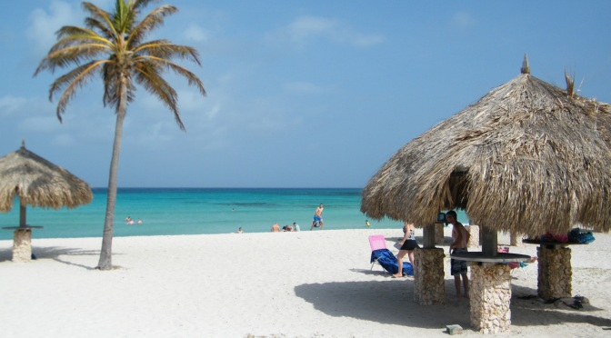 Aruba: encontro de Caribe e Holanda