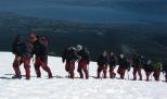 Trekking na montanha