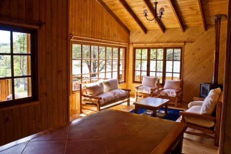 Lodge no Rio Baker
