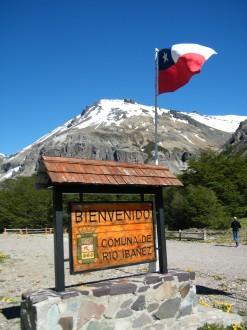 Caminho de Coyhaique ao Cerro Castillo