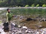 Pesca no Rio Baker