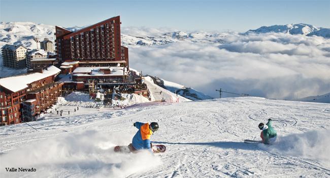Valle Nevado: esqui em ritmo de Copa