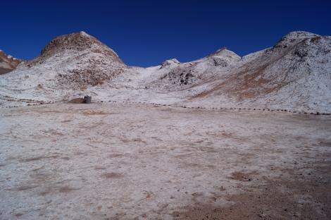 O sal que brota da terra