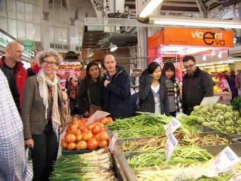 Visita ao mercado