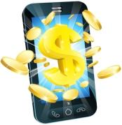 Dollar Money Phone Concept