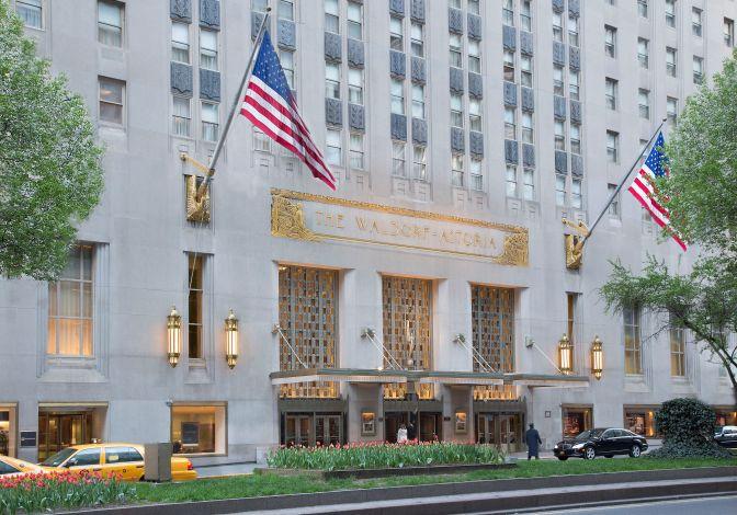Waldorf Astoria… e História!