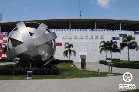 Maracanã - o estádio do Panamá onde rolam os jogos