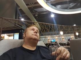 Lounge da Star Alliance em Guarulhos (SP)