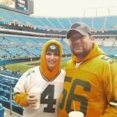Sílvio e Joice em Jacksonville