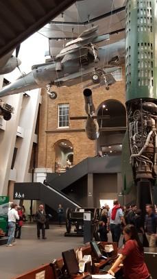Caça inglês Harrier - Museu Imperial da Guerra