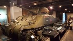 Tanque americano Sherman - Museu Imperial da Guerra