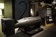 Bomba atômica - Museu Imperial da Guerra
