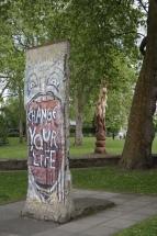 Pedaço do Muro de Berlim - Museu Imperial da Guerra