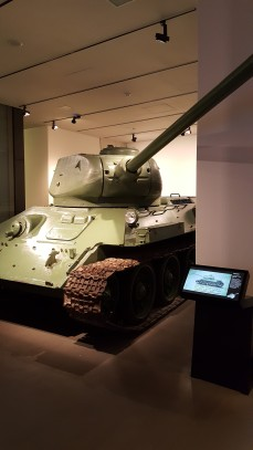 Tanque soviético T34 - Museu Imperial da Guerra