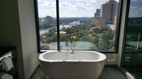 Banheiro Kimpton Van Zandt Hotel - Austin (EUA)
