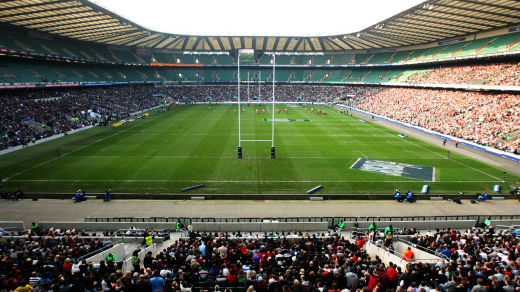 TWICKENHAM, ENGLAND - MARCH 27: General View of Twickenham Stadium during the round six Super Rugby match between the Crusaders and the Sharks at Twickenham Stadium on March 27, 2011 in London, United Kingdom. (Photo by Mark Wieland/Getty Images)