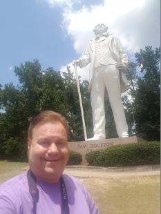 Estátua de Sam Houston, em Huntsville
