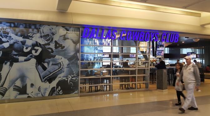 O aeroporto dos fãs do Dallas Cowboys!