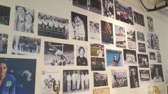 Homenagem aos esportes olímpicos