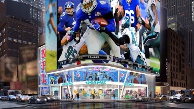 """Vem aí o """"NFL Experience Times Square""""!"""