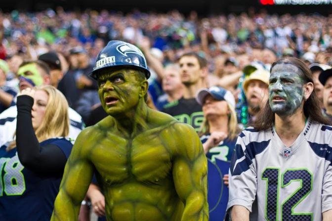 Vou a um jogo da NFL: preciso me preocupar com briga de torcida?