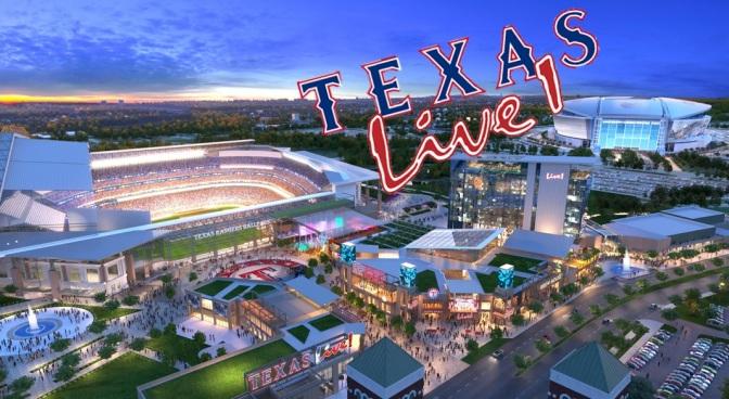 Um hotel para fãs de beisebol no Texas