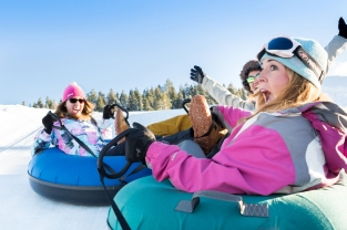 Adults Tubing at Gorgoza Park