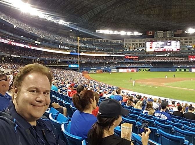 Como é ver um jogo de beisebol da MLB in loco!