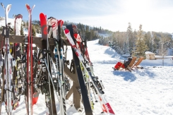Ski Racks at Deer Valley Resort