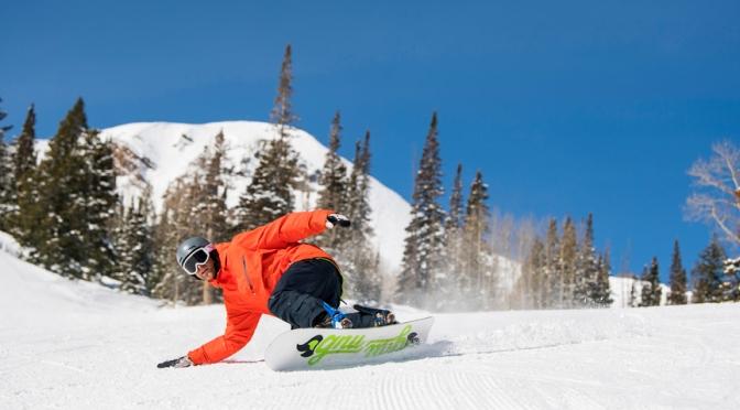 É hora de esquiar na terra do Tio Sam!