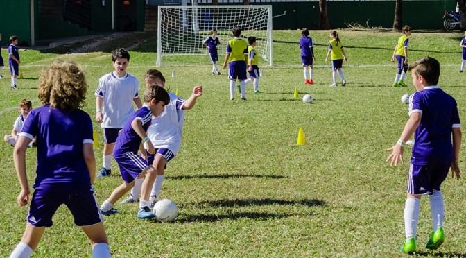 Uma viagem futebolística para a gurizada