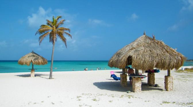 De boas em Aruba…