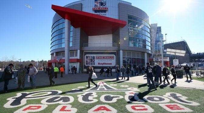 Sports Tour USA 8: museu do New England Patriots