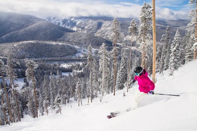 Winter Park: esqui bem pertinho de Denver