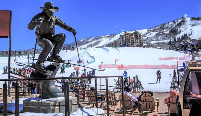 Estação de esqui de Steamboat (Colorado)