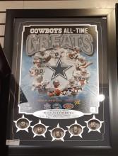 Réplicas de anéis de Super Bowl dos Cowboys