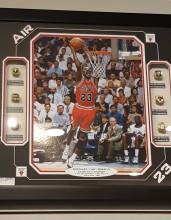 Réplicas de anéis de campeão de Michael Jordan