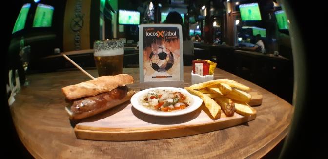 O bar dos fãs de futebol em Buenos Aires