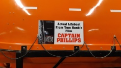 Barco de salvamento do filme Capitain Philips