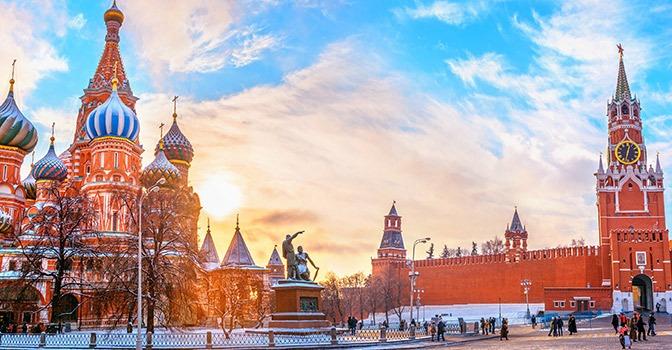 Em viagem: Moscou