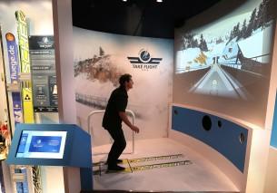Museu SKI - simulator - credit Alf Engen Ski Museum