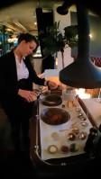 Preparação do Beef Tartar - Restaurante Grand Étage - Viena
