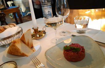 Beef Tartar - Restaurante Grand Étage - Viena