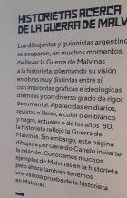 Os quadrinistas das Malvinas